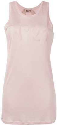 No.21 Logo Vest Top