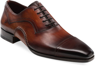 Magnanni Men's Jude Lace-Up Leather Shoes
