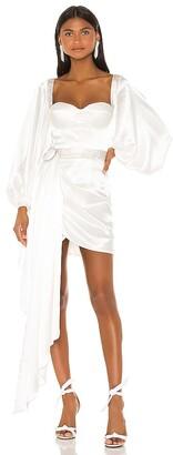Bronx and Banco Lana Bridal Mini Dress