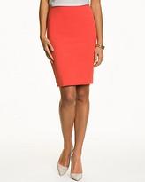 Le Château Cotton Twill High Waisted Skirt