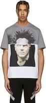 Neil Barrett White Baskiat T-shirt