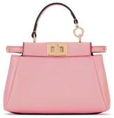 Fendi 'Micro Peekaboo' Nappa Leather Bag - Pink