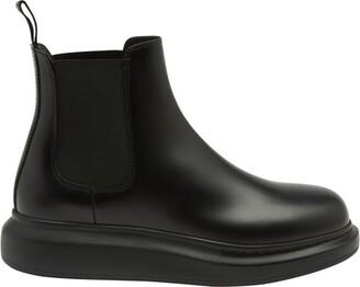 Alexander McQueen Oversize ankle boots