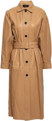 Joseph Paxon Leather Down Coat
