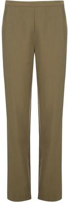 Natori High-Rise Straight-Leg Trousers