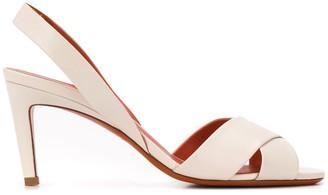 Santoni Cross Strap Sandals