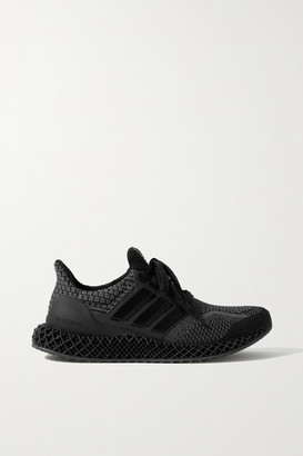 adidas Ultra 4d 5.0 Rubber-trimmed Primeblue Sneakers - Black
