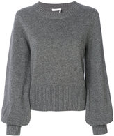 Chloé bell sleeved cashmere sweater