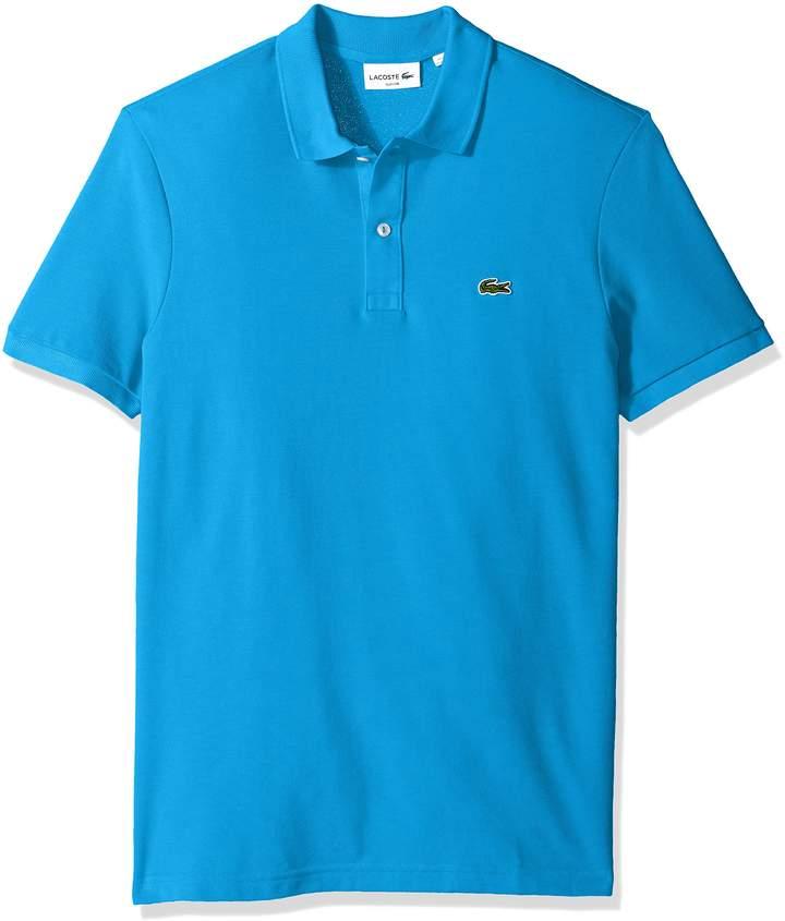 Lacoste Men's Short Sleeve Slim Fit Pique Polo, Ph4012