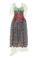 DELPOZO Embroidered Tulle Dress