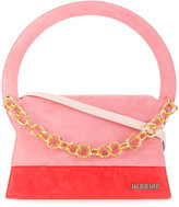 Jacquemus structured tote bag with gold chain