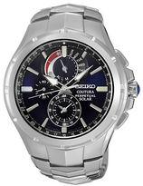 Seiko Coutura Silvertone Stainless Steel Watch