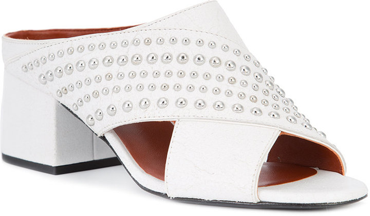 3.1 Phillip Lim silver studded mules