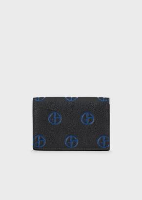 Giorgio Armani Leather Business Card Holder