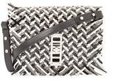 Proenza Schouler Elliot Mini Woven Leather Crossbody
