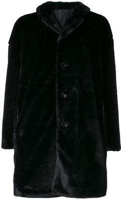 Aspesi reversible midi coat