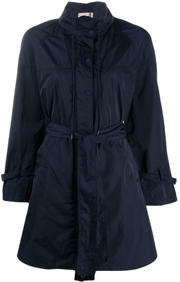 Twin-Set Tie Waist Rain Coat