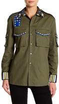 Ark & Co Beaded Army Jacket