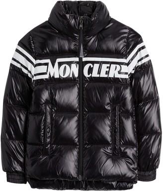 Moncler Logo Down-filled Puffer Jacket