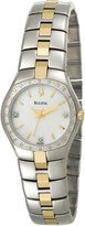Bulova Women's 98R008 Silver Stainless-Steel Quartz Watch with Dial