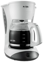 Mr. Coffee 12 Cup Switch Coffee Maker - White DW12-RB