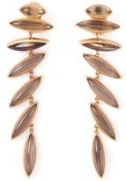 Bernardo Antonio 18kt yellow gold 'Wing' clip-on earrings