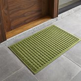 "Crate & Barrel Thirsty Dots TM Green 34""x22"" Doormat"