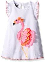 Mud Pie Little Girls Flamingo Tunic