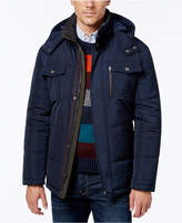London Fog Big and Tall Hooded Puffer Parka