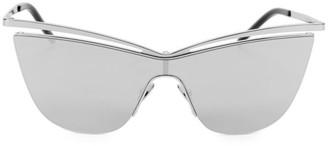 Saint Laurent Metal 99MM Cat Eye Sunglasses