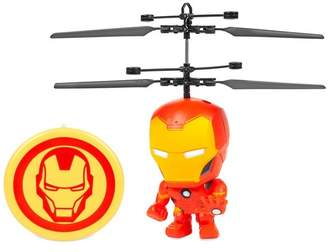 Iron Man World Tech Toys Marvel 3.5\ Flying Figure IR Helicopter