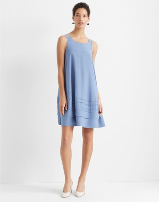 Club Monaco Layered Tuck Dress