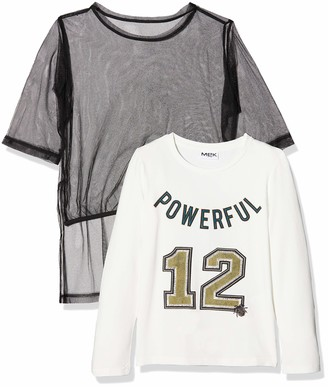 MEK Girl's 183MIFL012-919 T-Shirt