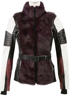 Gucci Purple Fur Coats