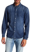 Joe's Jeans Jimmy Long Sleeve Denim Woven Shirt