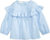 First Impressions Cotton Flounce Top, Baby Girls (0-24 months), Created for Macy's