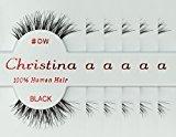 Christina 6 Pack False Eye Lashes Style DW