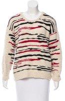 IRO Patterned Wool Sweater