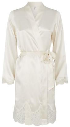 Aubade Silk Lace Robe