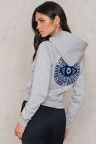 Tommy Hilfiger Gigi Hadid Graphic Cropped Hoodie