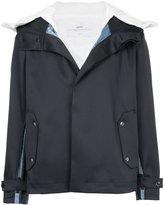 Oamc contrast panel jacket