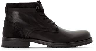 Jack and Jones Fwharry Mixed Ankle Boots