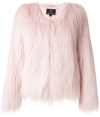 Unreal Fur faux fur short jacket
