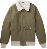 Battenwear - Faux Shearling-lined Cotton-blend Jacket