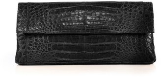 Nancy Gonzalez Gotham Crocodile Clutch