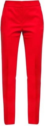 Cliché Reborn Cigarette Pant In Bright Red