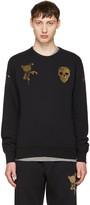 Alexander McQueen Black Bullion Sweatshirt