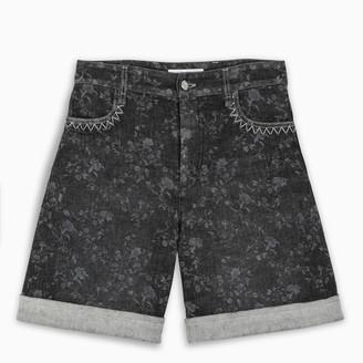 Chloé Grey denim shorts