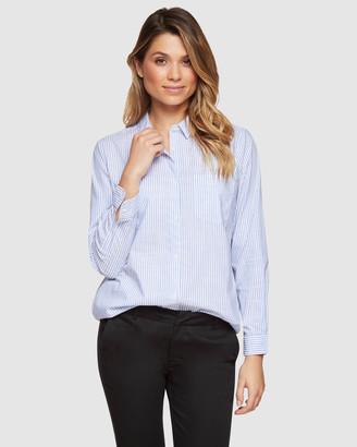 Oxford Eva Pocket Front Shirt