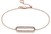 Monica Vinader Naida Rectangle Open Bracelet
